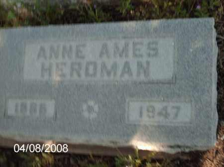 HEROMAN, ANNE - Gila County, Arizona | ANNE HEROMAN - Arizona Gravestone Photos