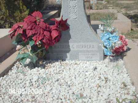 HERRERA, MATILDE G. - Gila County, Arizona | MATILDE G. HERRERA - Arizona Gravestone Photos