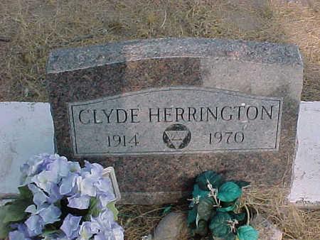 HERRINGTON, CLYDE - Gila County, Arizona   CLYDE HERRINGTON - Arizona Gravestone Photos