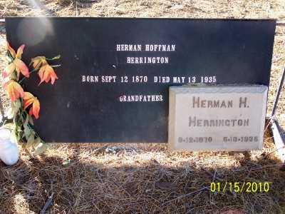 HERRINGTON, HERMAN HOFFMAN - Gila County, Arizona   HERMAN HOFFMAN HERRINGTON - Arizona Gravestone Photos