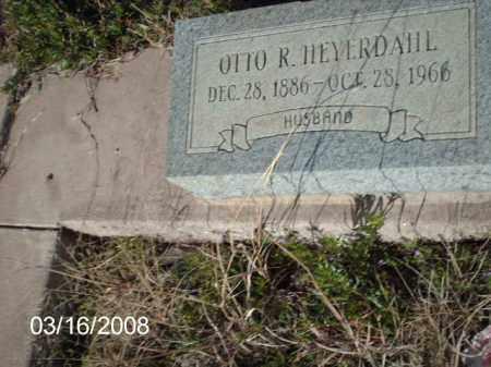 HEYERDAHL, OTTO - Gila County, Arizona   OTTO HEYERDAHL - Arizona Gravestone Photos