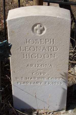 HIGDON, JOSEPH LEONARD - Gila County, Arizona | JOSEPH LEONARD HIGDON - Arizona Gravestone Photos