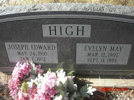 HIGH, EVELYN MAY - Gila County, Arizona | EVELYN MAY HIGH - Arizona Gravestone Photos