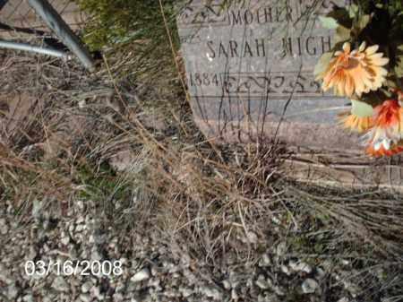 HIGH, SARAH - Gila County, Arizona | SARAH HIGH - Arizona Gravestone Photos