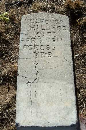 HILDEGO, ELFONSA - Gila County, Arizona | ELFONSA HILDEGO - Arizona Gravestone Photos