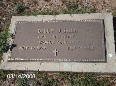 HILL, BILLY - Gila County, Arizona | BILLY HILL - Arizona Gravestone Photos