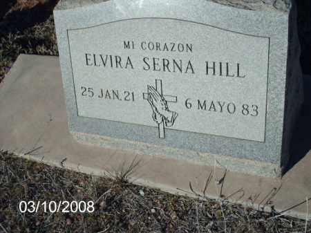 HILL, ELVIRA - Gila County, Arizona | ELVIRA HILL - Arizona Gravestone Photos
