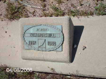 HILL, EDWARD - Gila County, Arizona | EDWARD HILL - Arizona Gravestone Photos