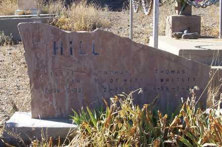 HILL, THOMAS DEWITT - Gila County, Arizona   THOMAS DEWITT HILL - Arizona Gravestone Photos