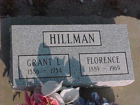 HILLMAN, FLORENCE - Gila County, Arizona | FLORENCE HILLMAN - Arizona Gravestone Photos
