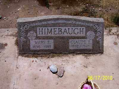 HIMEBAUGH, CLAUDE EDWIN - Gila County, Arizona | CLAUDE EDWIN HIMEBAUGH - Arizona Gravestone Photos