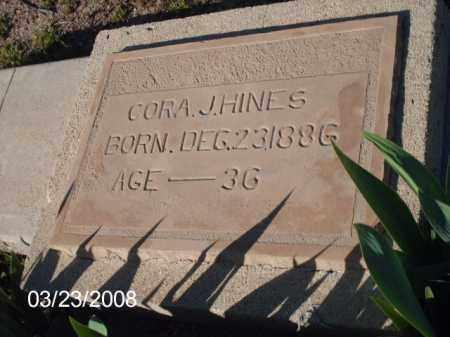 HINES, CORA - Gila County, Arizona   CORA HINES - Arizona Gravestone Photos