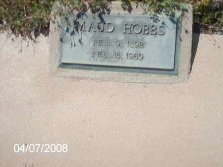 HOBBS, MAUD - Gila County, Arizona | MAUD HOBBS - Arizona Gravestone Photos