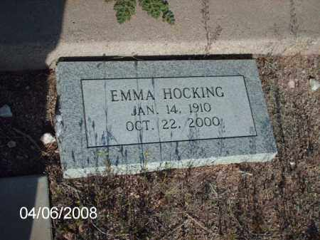 HOCKING, EMMA - Gila County, Arizona | EMMA HOCKING - Arizona Gravestone Photos