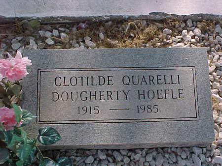 QUARELLI HOEFLE, CLOTLDE - Gila County, Arizona | CLOTLDE QUARELLI HOEFLE - Arizona Gravestone Photos