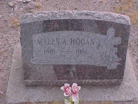 HOGAN, MYLES  A. - Gila County, Arizona   MYLES  A. HOGAN - Arizona Gravestone Photos
