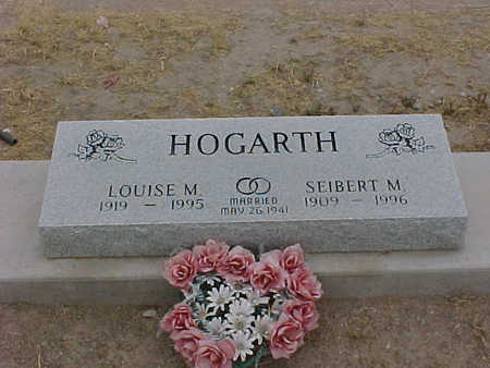HOGARTH, SEIBERT  M. - Gila County, Arizona | SEIBERT  M. HOGARTH - Arizona Gravestone Photos