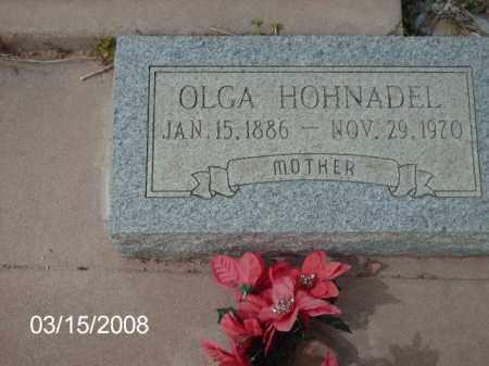 HOHNADEL, OLGA - Gila County, Arizona   OLGA HOHNADEL - Arizona Gravestone Photos