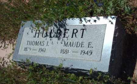 HOLBERT, MAUDE E. - Gila County, Arizona | MAUDE E. HOLBERT - Arizona Gravestone Photos
