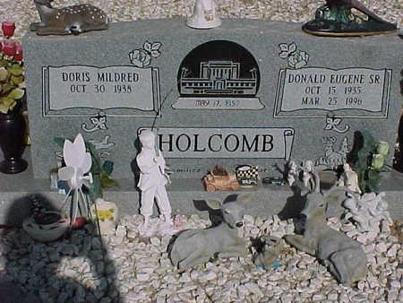HOLCOMB, DONALD  EUGENE, SR. - Gila County, Arizona | DONALD  EUGENE, SR. HOLCOMB - Arizona Gravestone Photos