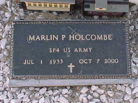 HOLCOMBE, MARLIN  P. - Gila County, Arizona | MARLIN  P. HOLCOMBE - Arizona Gravestone Photos