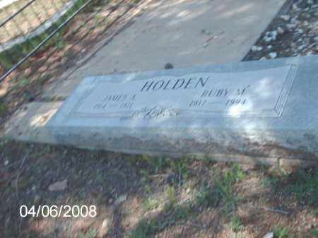 HOLDEN, RUBY M. - Gila County, Arizona   RUBY M. HOLDEN - Arizona Gravestone Photos