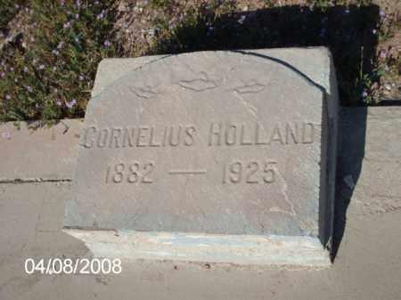 HOLLAND, CORNELIOUS - Gila County, Arizona   CORNELIOUS HOLLAND - Arizona Gravestone Photos