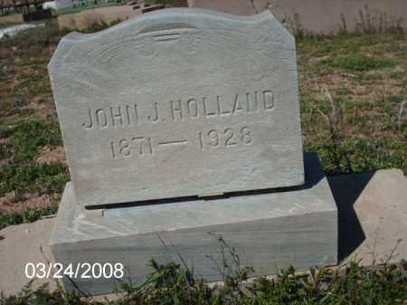 HOLLAND, JOHN - Gila County, Arizona | JOHN HOLLAND - Arizona Gravestone Photos