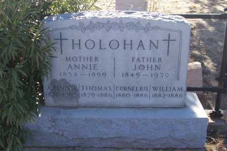 HOLOHAN, JOHNNIE - Gila County, Arizona | JOHNNIE HOLOHAN - Arizona Gravestone Photos