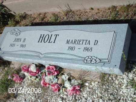 HOLT, JOHN - Gila County, Arizona | JOHN HOLT - Arizona Gravestone Photos