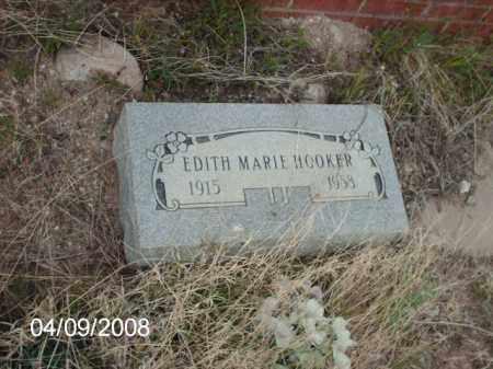 HOOKER, EDITH MARIE - Gila County, Arizona | EDITH MARIE HOOKER - Arizona Gravestone Photos