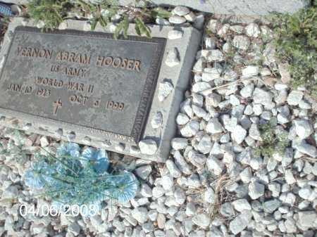 HOOSER, VERNON ABRAM - Gila County, Arizona | VERNON ABRAM HOOSER - Arizona Gravestone Photos