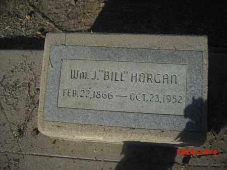 HORGAN, WM. J. - Gila County, Arizona   WM. J. HORGAN - Arizona Gravestone Photos