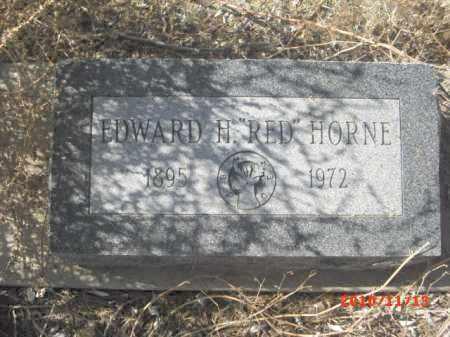 HORNE, EDWARD - Gila County, Arizona | EDWARD HORNE - Arizona Gravestone Photos