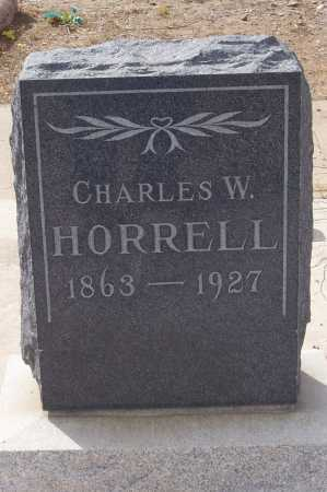 HORRELL, CHARLES W. - Gila County, Arizona | CHARLES W. HORRELL - Arizona Gravestone Photos