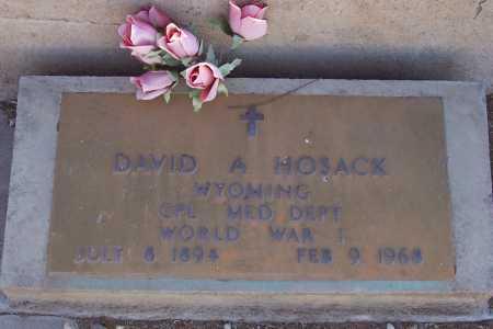 HOSACK, DAVID A. - Gila County, Arizona | DAVID A. HOSACK - Arizona Gravestone Photos