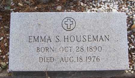 HOUSEMAN, EMMA S. - Gila County, Arizona | EMMA S. HOUSEMAN - Arizona Gravestone Photos