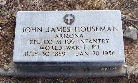 HOUSEMAN, JOHN JAMES - Gila County, Arizona | JOHN JAMES HOUSEMAN - Arizona Gravestone Photos