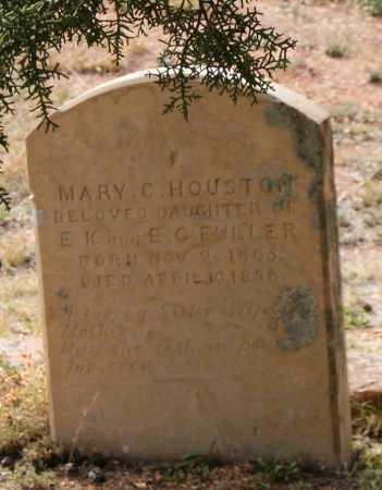 FULLER HOUSTON, MARY C. - Gila County, Arizona   MARY C. FULLER HOUSTON - Arizona Gravestone Photos