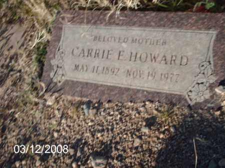 HOWARD, CARRIE - Gila County, Arizona | CARRIE HOWARD - Arizona Gravestone Photos