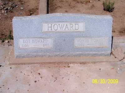 HOWARD, DOT - Gila County, Arizona | DOT HOWARD - Arizona Gravestone Photos