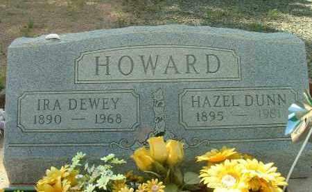 HOWARD, IRA DEWEY - Gila County, Arizona | IRA DEWEY HOWARD - Arizona Gravestone Photos