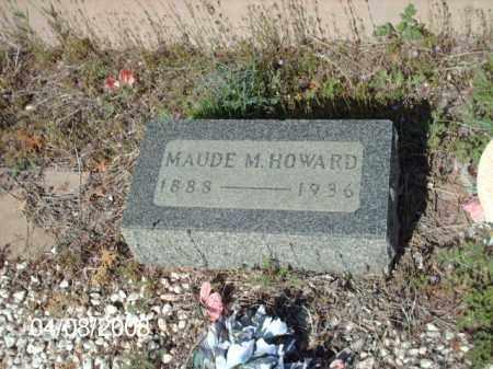 HOWARD, MAUDE M. - Gila County, Arizona | MAUDE M. HOWARD - Arizona Gravestone Photos