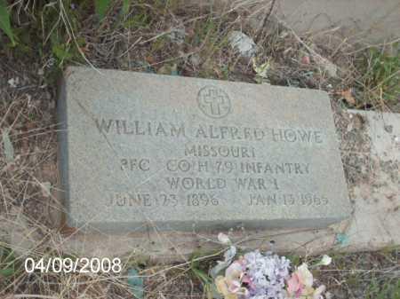 HOWE, WILLIAM ALFRED - Gila County, Arizona   WILLIAM ALFRED HOWE - Arizona Gravestone Photos