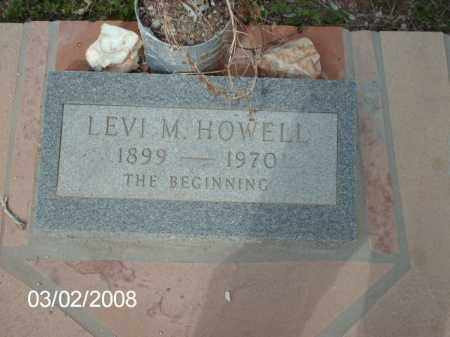 HOWELL, LEVI - Gila County, Arizona | LEVI HOWELL - Arizona Gravestone Photos