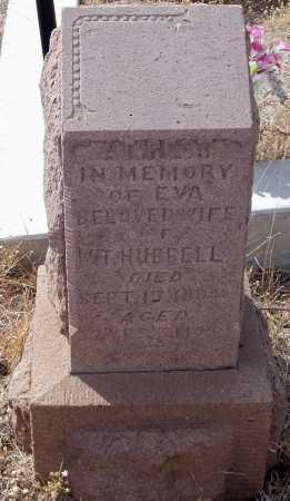 HUBBELL, EVA - Gila County, Arizona | EVA HUBBELL - Arizona Gravestone Photos