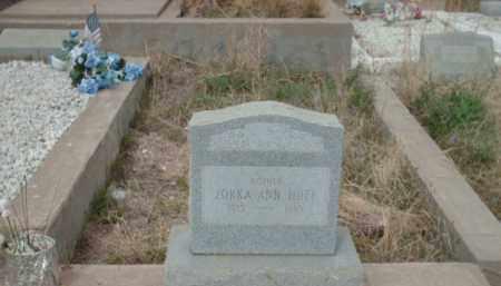 HUFF, ZORKA ANN - Gila County, Arizona | ZORKA ANN HUFF - Arizona Gravestone Photos