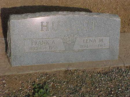HUCHET, LENA  M. - Gila County, Arizona | LENA  M. HUCHET - Arizona Gravestone Photos