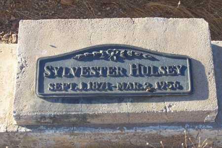 HULSEY, SYLVESTER - Gila County, Arizona | SYLVESTER HULSEY - Arizona Gravestone Photos
