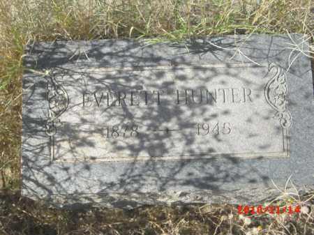 HUNTER, EVERETT - Gila County, Arizona | EVERETT HUNTER - Arizona Gravestone Photos